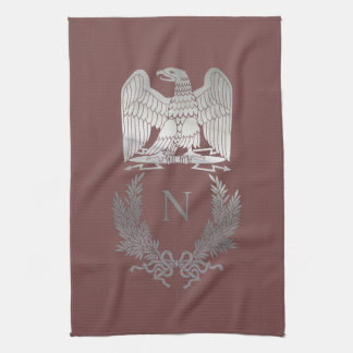 French Imperial Eagle Tea Towel