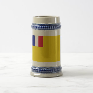 French Indochina Flag (1887-1954) Beer Steins