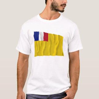 French Indochina Waving Flag (1887-1954) T-Shirt