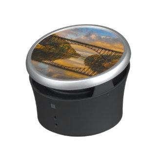 French King Bridge in Fall Bluetooth Speaker