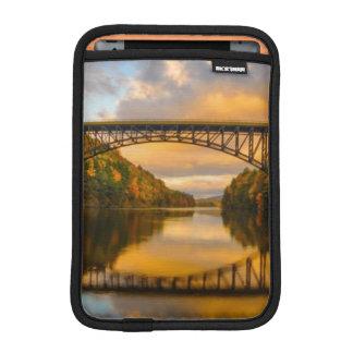 French King Bridge in Fall iPad Mini Sleeve