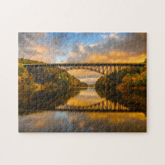 French King Bridge in Fall Jigsaw Puzzle