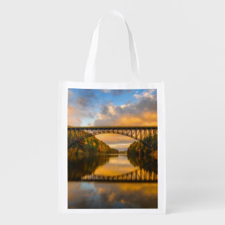 French King Bridge in Fall Reusable Grocery Bag