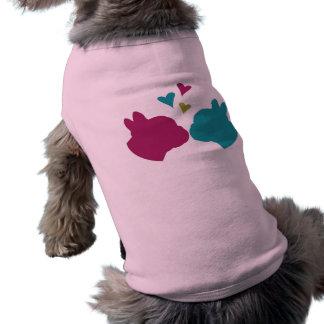French Kiss Sleeveless Dog Shirt