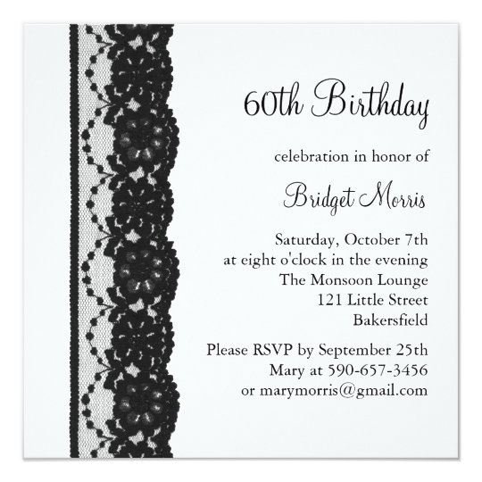 80th birthday invitations announcements zazzle french lace birthday invitation white stopboris Image collections