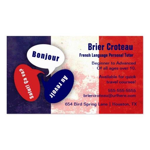 tutor business cards