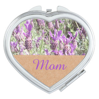 French Lavender Mom Makeup Mirror