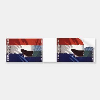 French Line Bumper Sticker