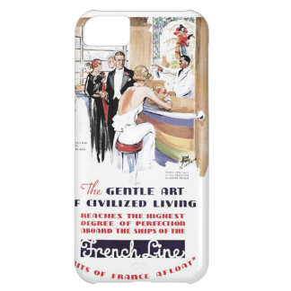 French Line Cruise iPhone 5C Case