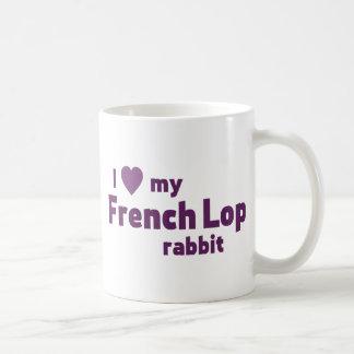 French Lop rabbit Basic White Mug