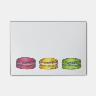 French Macaron Macarons Cookie Cookies Post It Post-it Notes