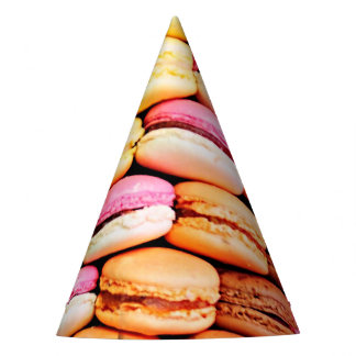 French macaron party hat