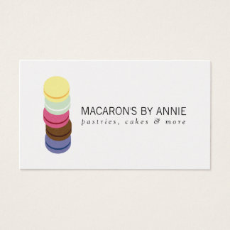 FRENCH MACARON STACK LOGO for Bakery, Pastry Chef