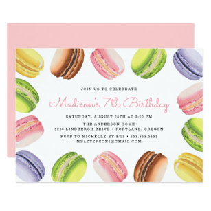French Birthday Invitations Announcements Zazzlecouk