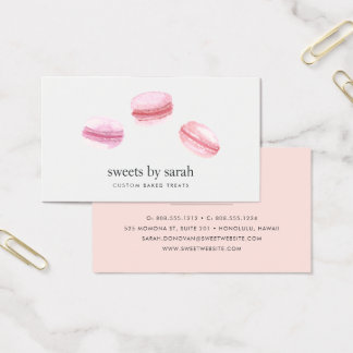 French Macarons Business Card