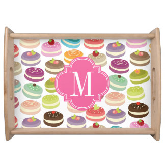 French Macarons Personalized Serving Tray