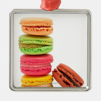 French macaroons christmas ornament