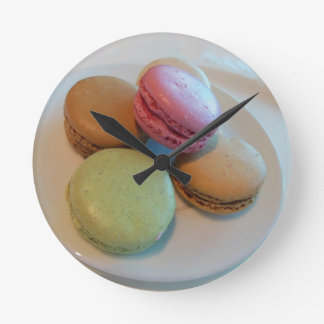 French Macaroons Clocks
