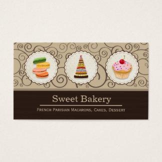 French Macaroons Cupcake Dessert Bakery Store