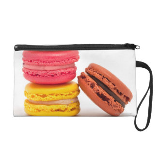 French macaroons wristlet purses