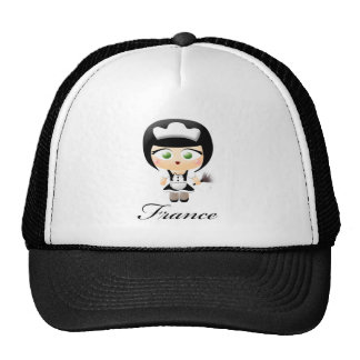 French Maid Trucker Hats