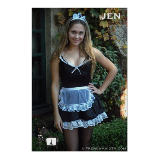 French Maid TV: Jen Poster