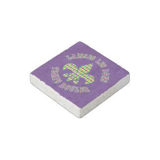 French Mardi Gras Stone Magnet