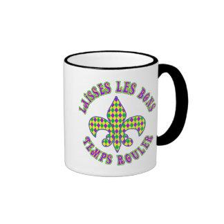 French Mardi Gras Mugs