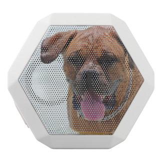 French Mastiff White Boombot Rex Bluetooth Speaker