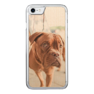 French Mastiff Carved iPhone 7 Case