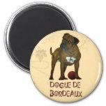 French Mastiff Refrigerator Magnets
