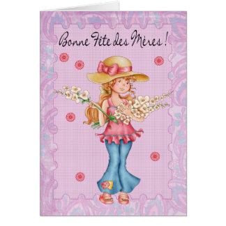 French Mother s Day Card Bonne Fete Des Meres