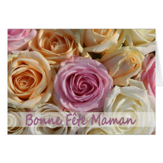 french mother s day pastel roses greeting cards