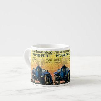 French Motorsports Vintage Advertisement Espresso Mug