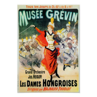 French Musee Grevin Poster