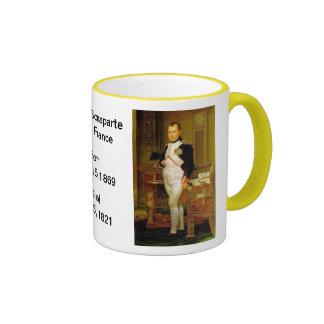 French:  Napoleon Bonaparte Ringer Mug