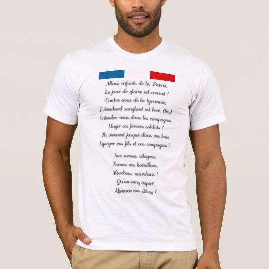 French national anthem Shirt