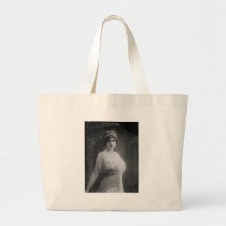 French Opera Singer Marguerite Beriza Portrait Tote Bags
