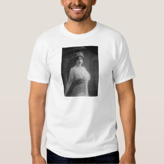 French Opera Singer Marguerite Beriza Portrait Shirt