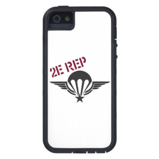 French Parawing 2e MENTION Tough Xtreme iPhone 5 Case