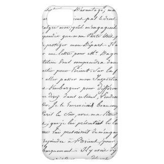 French Paris Script iPhone 5C Case