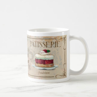 French Patisserie II  illustrated mug