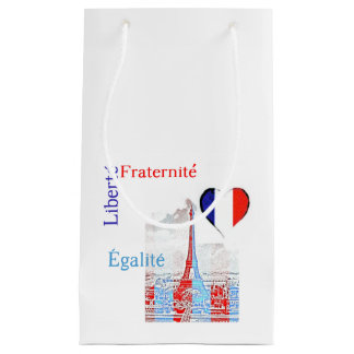 French patriotic small gift bag