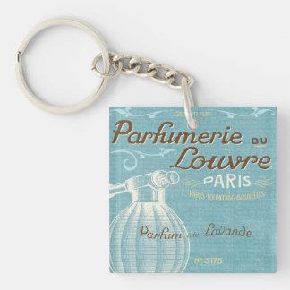 French Perfume Key Ring