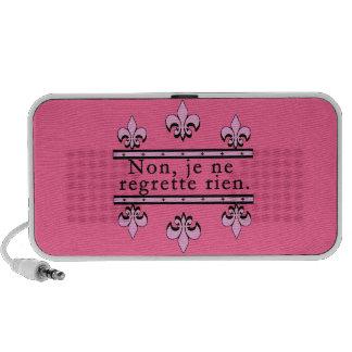 French Phrase Doodle Portable Speaker