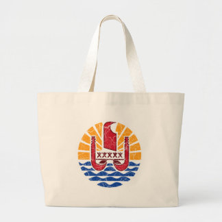 French Polynesia Coat Of Arms Bags