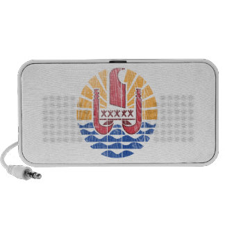 French Polynesia Coat Of Arms Speaker System