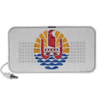 French Polynesia Coat Of Arms Portable Speaker