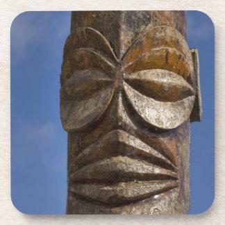 French Polynesia, Cook Islands, Rarotonga, Beverage Coaster