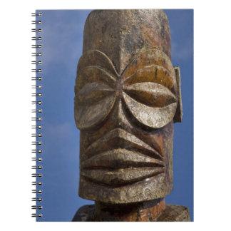 French Polynesia, Cook Islands, Rarotonga, Spiral Notebook